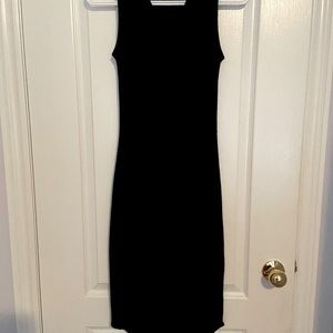 Black Wilfred free dress from aritzia